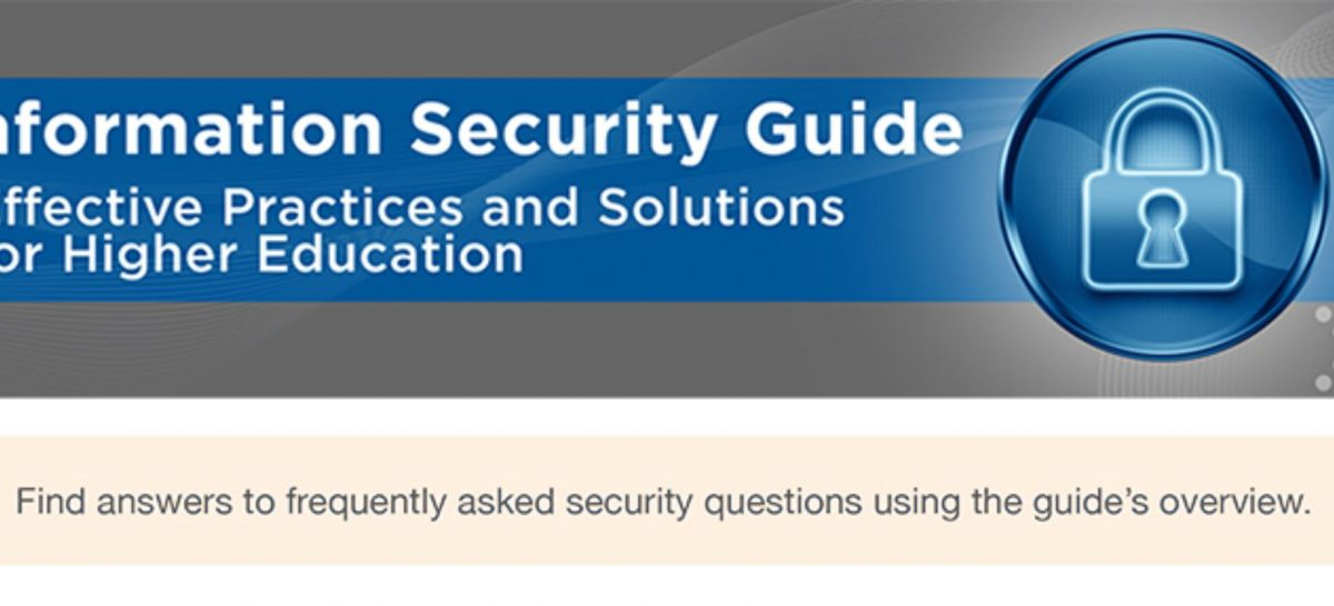 HEISC Information Security Guide