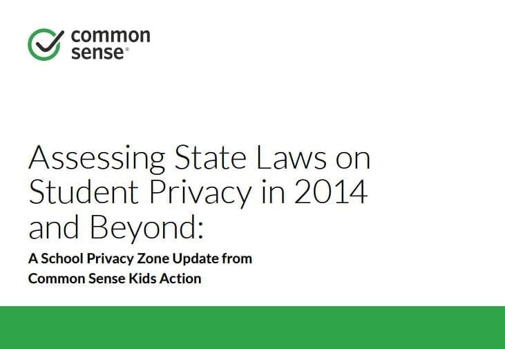 Assessing State Laws on Student Privacy in 2014 and Beyond
