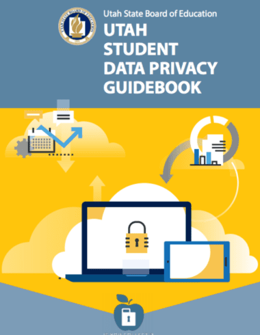 Screenshot of Utah Student Data Privacy Guidebook