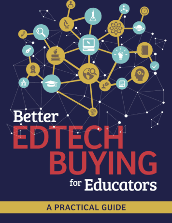 Screenshot of Better Edtech Buying for Educators Guide